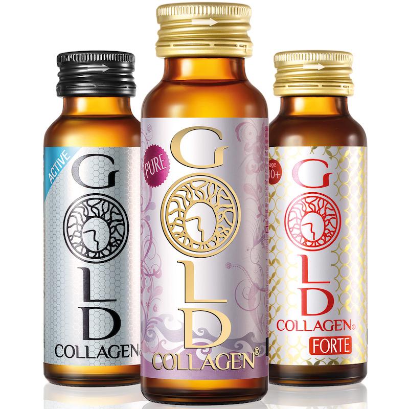 Gold Collagen – New Generation Anti-aging Collagen Drinks