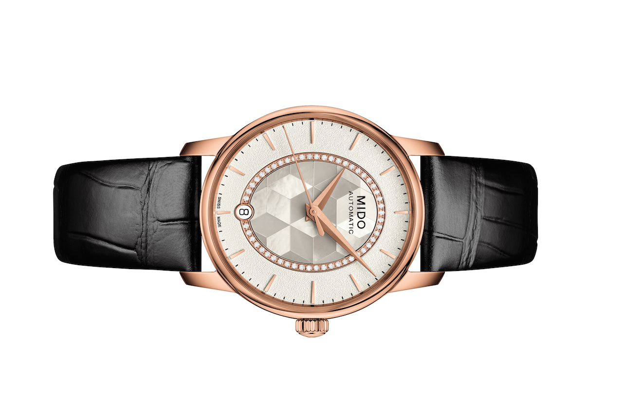 Baroncelli Prisma -  A sparkling Play of Prisms Enhanced by 51 Diamonds